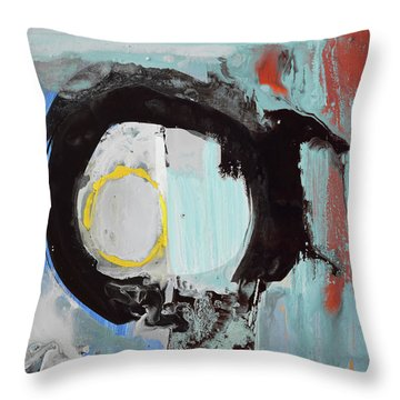 Enso, Rising Up From Duality Into The Light Throw Pillow