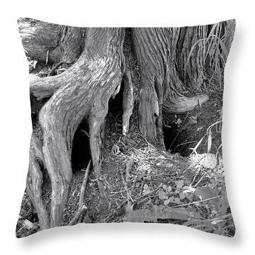 Ent Foot Throw Pillow