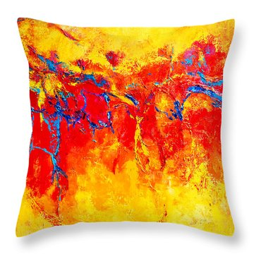 Entangled No. 2 A Reflection Of Life Throw Pillow