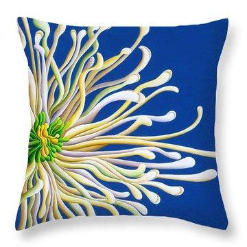 Entendulating Serene Blossom Throw Pillow
