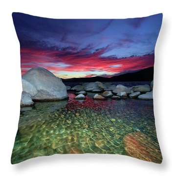 Enter A Tahoe Dream Throw Pillow