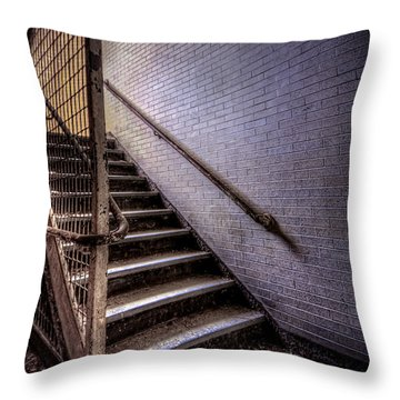 Enter The Darkness Throw Pillow