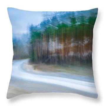 Enter The Slumberland Forest Throw Pillow