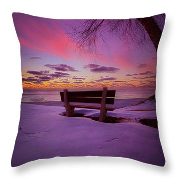 Throw Pillow featuring the photograph Enters The Unguarded Heart by Phil Koch