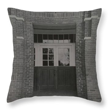 Entrance 55 Throw Pillow
