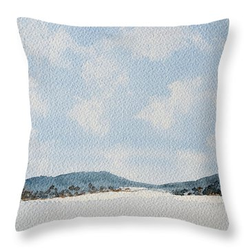 Entrance To Moulters Lagoon From Bathurst Harbour Throw Pillow