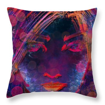 Entranced Throw Pillow