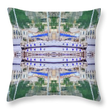 Entranced Throw Pillow by Keith Armstrong