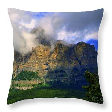 Envelopped  Throw Pillow