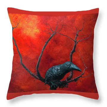 Environment 2050 Throw Pillow by Jeff Burgess