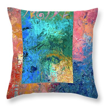 Envision Throw Pillow