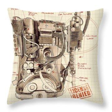 Epa Application #012938rt34 Throw Pillow
