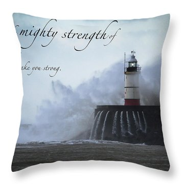 Ephesians 6 10 Throw Pillow