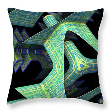 Throw Pillow featuring the digital art Epic by Lyle Hatch