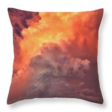 Epic Storm Clouds Throw Pillow