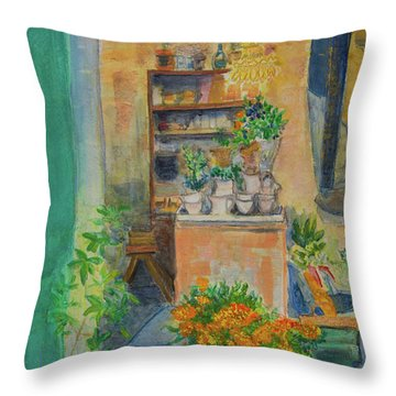Epicure Throw Pillow