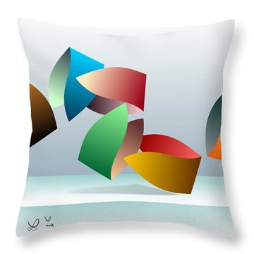Episode No1 Throw Pillow by Leo Symon