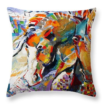 Epsilon Throw Pillow