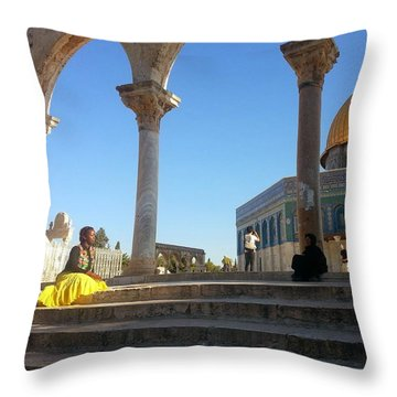 Equally.lesser Throw Pillow
