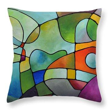 Equanimity Throw Pillow