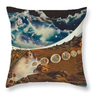Equasia- II. Throw Pillow