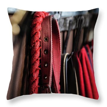 Equestrian Life Throw Pillow