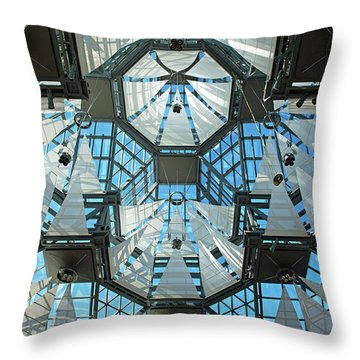 Throw Pillow featuring the photograph Equilibrium.. by Nina Stavlund