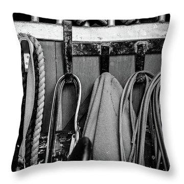 Equine Life Throw Pillow