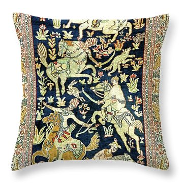 Equine Tapestry Throw Pillow