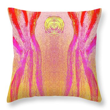 Equipoise Throw Pillow