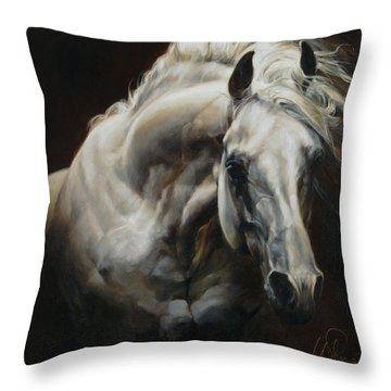 Equus Series I-ii Throw Pillow