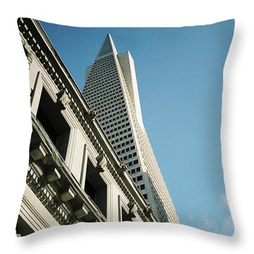 Eras, San Francisco Throw Pillow