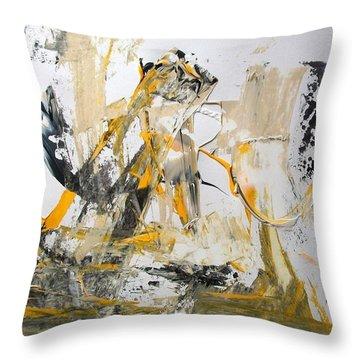 Erasure Throw Pillow
