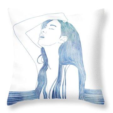 Erato Throw Pillow