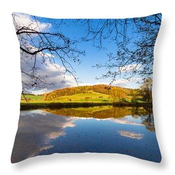 Erdfallsee, Harz Throw Pillow