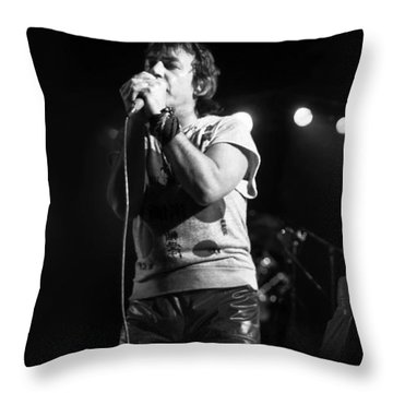 Eric Burdon 3 Throw Pillow