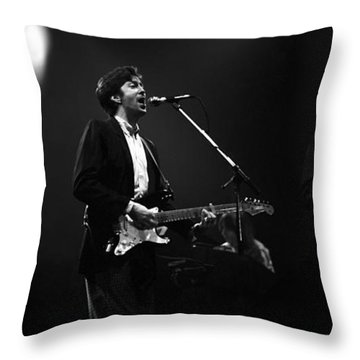 Eric Clapton  Throw Pillow