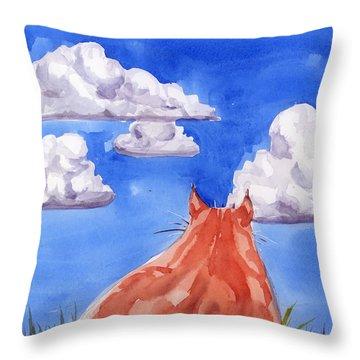 Ernesto's Dream Throw Pillow