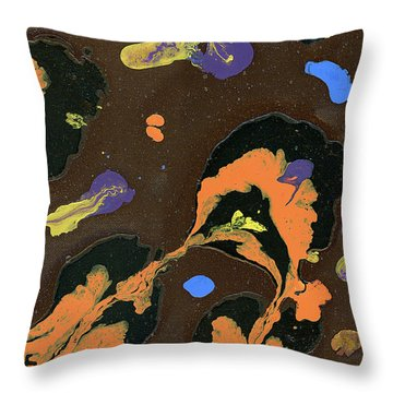 Eroded And Corroded Throw Pillow