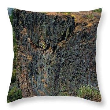 Erosion Of Flow Throw Pillow