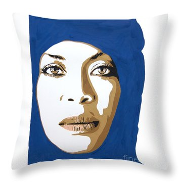 Erykah Badu. Mama's Gun. Throw Pillow