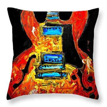 Es 335 San Antonio Throw Pillow