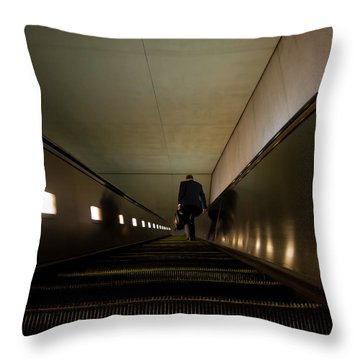 Escalation Throw Pillow
