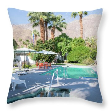 Throw Pillow featuring the photograph Escape Resort by Ross G Strachan