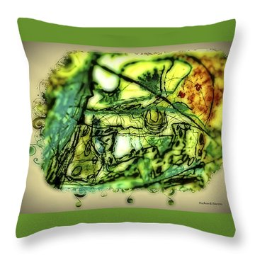 Escape The Whirlwind-2015 Throw Pillow