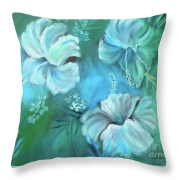 Escape To Serenity Throw Pillow