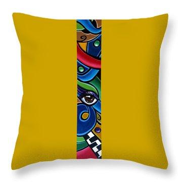 Escape To Venice - Abstract Art Throw Pillow