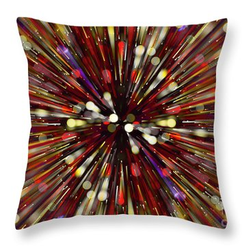 Throw Pillow featuring the photograph Escape Velocity.. by Nina Stavlund