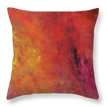Escaping Spirits Throw Pillow by Ralph White