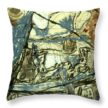 Escaping The Whirlwind Throw Pillow